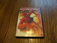 I have Spider Man 1 Dvd Widescreen Special Edition 2