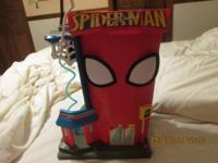 little spiderman figure 1.00 each large spiderman is