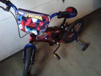 "Boys ""Spidey"" Bike - New. Mint Condition. Don't let"