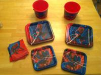 These were Spiderman products that were unused and left