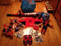 I have actually gathered different spiderman figurines,