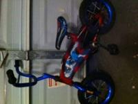 I have a small Spiderman Bike that I have for sale.
