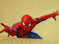 5 Piece Spider-Man Spiderman Display NEW with box This