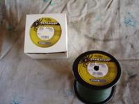 Full spool of spiderwire 80lb. line. I loaded one reel