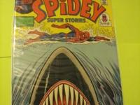 This copy of the Spidey Super Stories # 16 comics is in