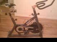 This is a new Body Fit spin bike. I only used it once.