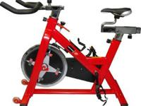 Very nice Spinning bike Basically brand new only used