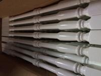 I have a bunch of white primed balusters / spindles
