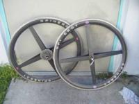 Tubular Race Wheels in Good Condition. 9 speed . Great