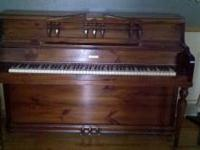 nice piano recently tuned, moving, must sell  Location: