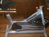 My wife and I are selling our Spinner Exercise bike. It