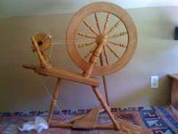 This beautiful Ashford Spinning Wheel, traditional