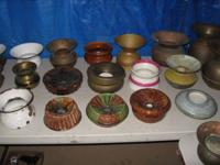 Spectacular 60+ piece Spittoon collection to consist of