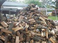 FULLSIZE PICKUP SPLIT OAK FIREWOOD DELIVERED FOR $60