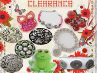 Clearance Sale at Diana Snaps on button/charm like snap