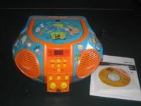 This is a Nickolodeon CD music machine with SpongeBob