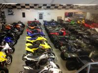 Great selection of used sport ATV's- all models with