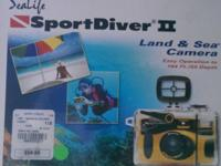 Sport Diver II Land & Sea Camera have never used this -