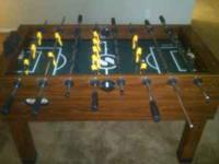 I recently moved and i have no room for my foosball