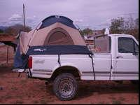 Sporteez 3 truck tent.... fits full size short bed