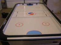 Sportcraft Turbo Air Hockey Table. Approx size is a
