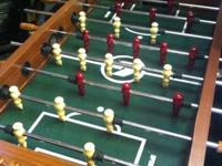 I have for sale a sportscraft Foosball table, recently