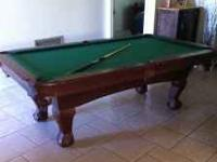 I have a Sportcraft Pool table for sale. Asking $700