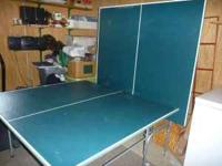 Ping Pong Table $50, Giant Trail Bikes $15, Portable