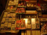 Thousands of cards!!!! cards ranging from the late 70's