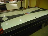 This Sport Craft air hockey table is used but in pretty
