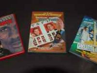 Three DVDs of the Sports Genre. Excellent Condition!