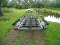 Hello! I have a double bunk galvanized Jet ski trailer