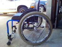 Like new sports wheelchair madby invacare