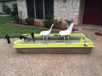 SPORTSMAN 2 PERSON FISHING BOAT WITH 55lb THRUST