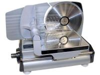 The Sportsman Electric Meat Slicer features a 7-1/2 in.