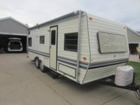 nice trailer for sale   stove/microwave/refridgerator
