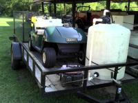 I used this setup to operate a lawn spray business.