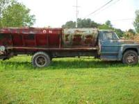 1971 ford spreader truck runs great needs a clutch and