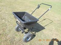 Lawn Spreaders for grass seed or fertilizer. We have 6