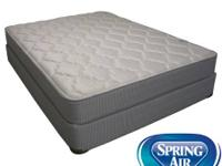 Spring Air Mattress set. Queen size plush bed mattress
