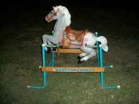Flexible Flyer spring horse for sale... $25... Call or