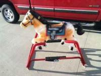 Great value for sturdy horse - these go for $100+ new.