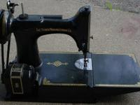-Springer 221 Sewing Machine: Inside the booklet it is