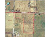 Highly visible development land with 1320 feet of