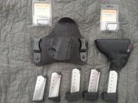 -1 Crossbreed Super Tuck holster. Black. These are