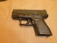 I have a Springfield XD9 sub-compact with big dot night