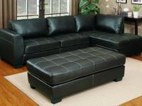 SPRINGTOWN SECTIONAL * Covered in genuine bonded