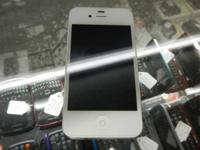 SPRINT APPLE IPHONE 4 8GB CELL PHONE IN WHITE OR BLACK,