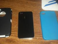 I have a iphone 4 for sprint with box and 2 cases