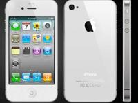 Sprint iPhone 4 8GB White *COMBO PACK* MINT CONDITION,